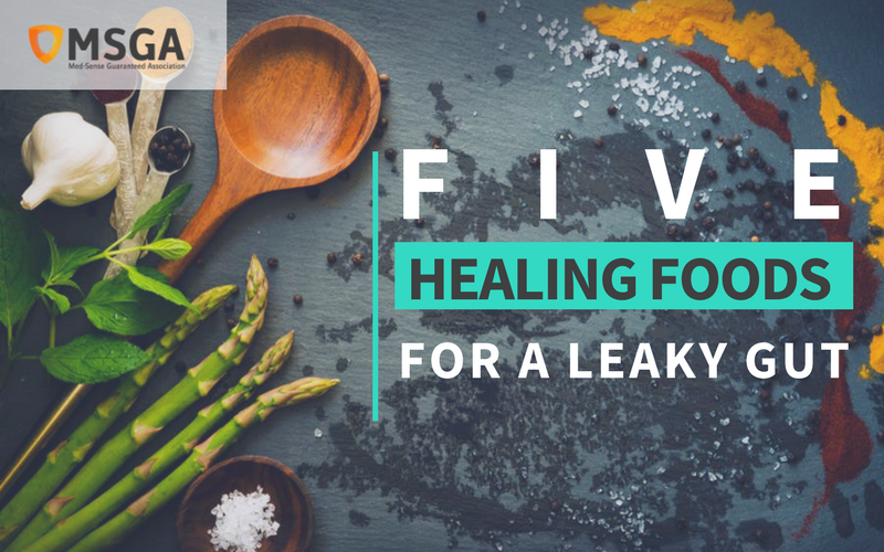 Five Healing Foods for a Leaky Gut