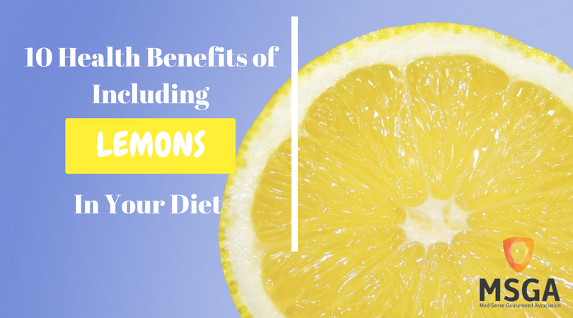 10 Health Benefits of Including Lemons in a Diet