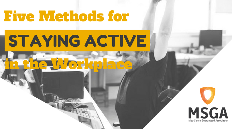 Five Methods for Staying Active in the Workplace