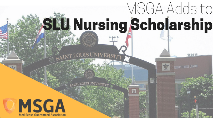 MSGA Gift to SLU Nursing Scholarship