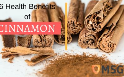 Six of the Health Benefits of Cinnamon