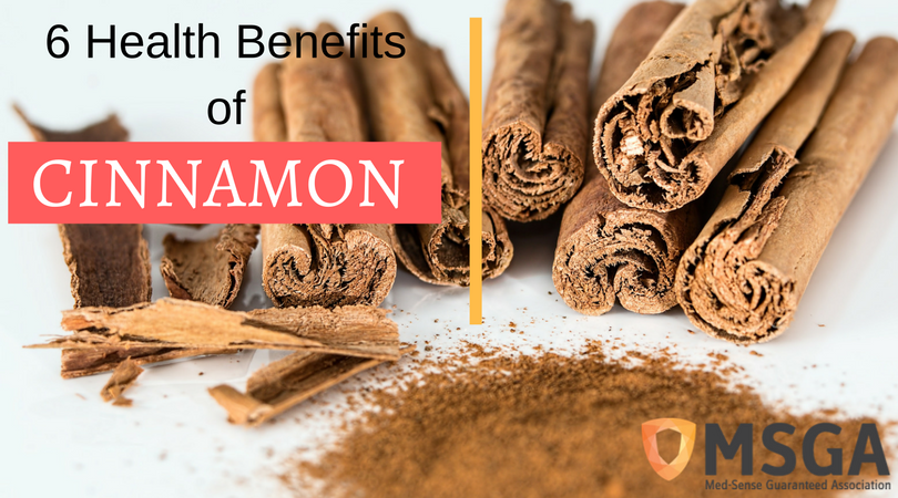 Six of the Health Benefits of Cinnamon