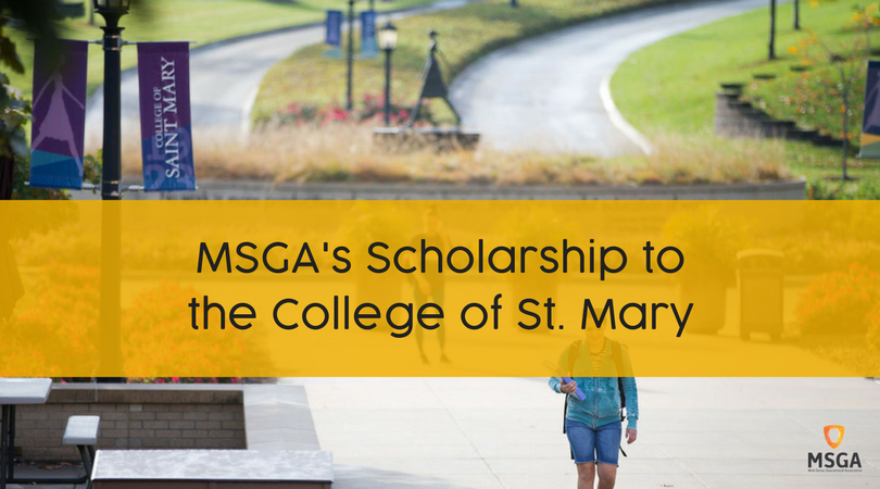 MSGA Nursing Scholarship of $50,000 to College of Saint Mary