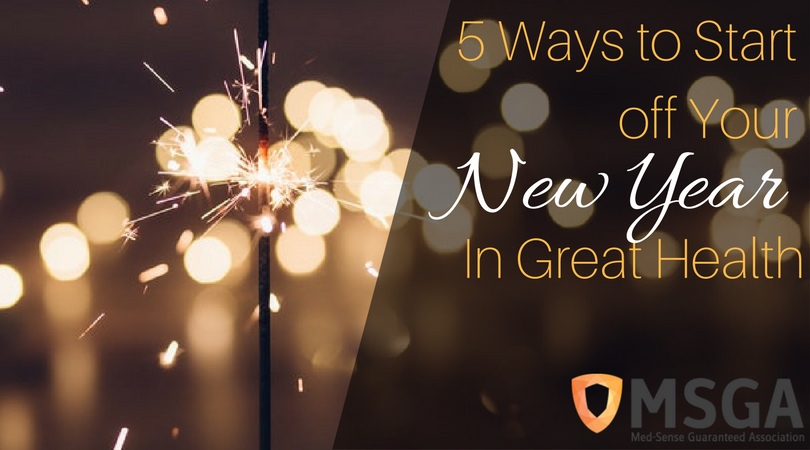 5 Ways to Start off Your New Year in Great Health