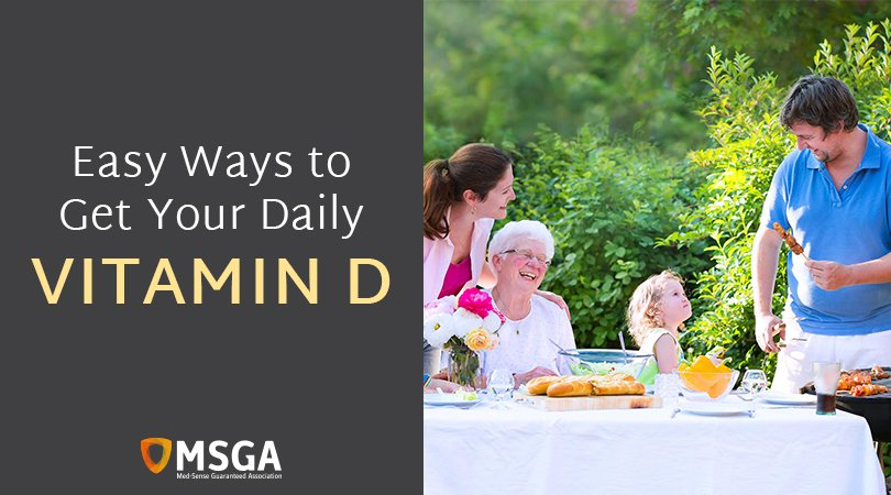 Easy Ways to Get Your Daily Vitamin D