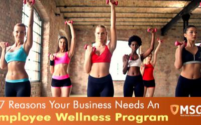 7 Reasons Your Business Needs An Employee Wellness Program