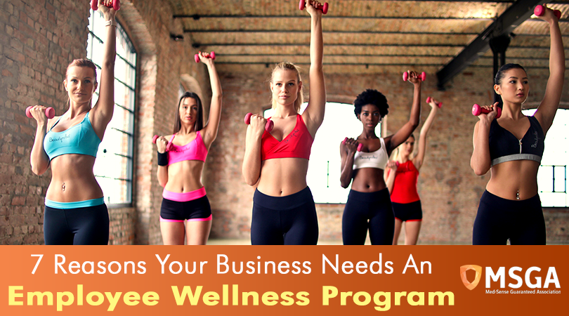7 Reasons Your Business Needs An Employee Wellness Program