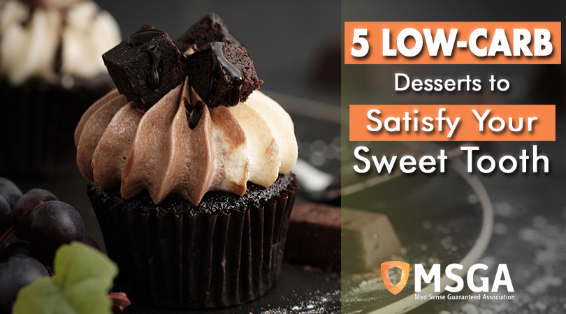 5 Low-Carb Desserts To Satisfy Your Sweet Tooth