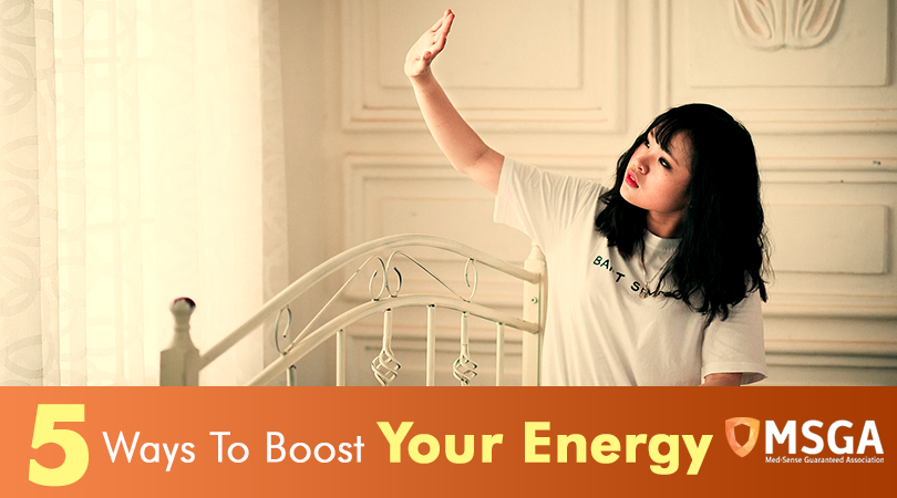 5 Ways To Boost Your Energy
