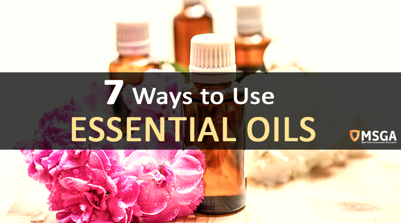 7 Ways To Use Essential Oils