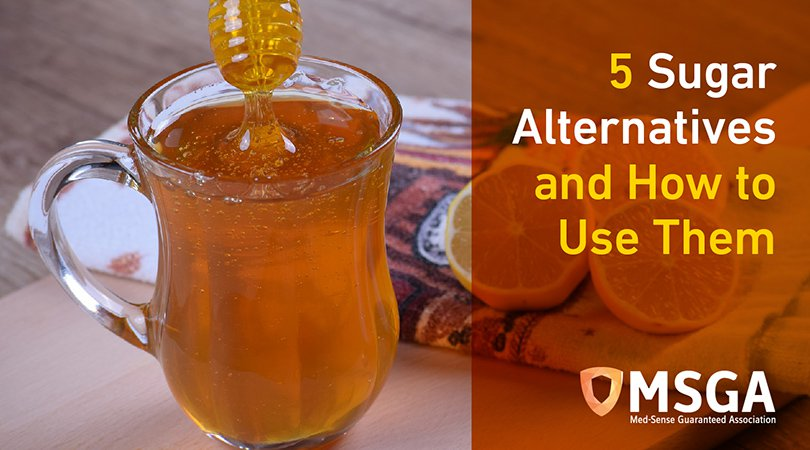 5 Sugar Alternatives And How To Use them