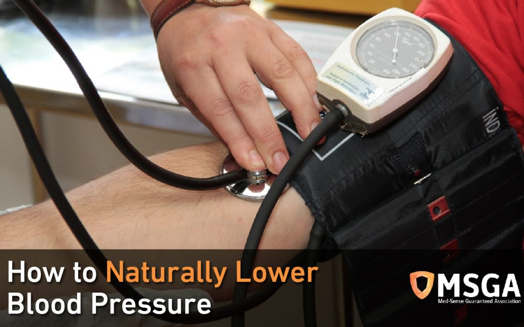 How to Naturally Lower Blood Pressure