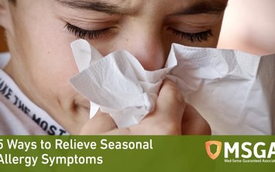 5 Ways to Relieve Seasonal Allergy Symptoms