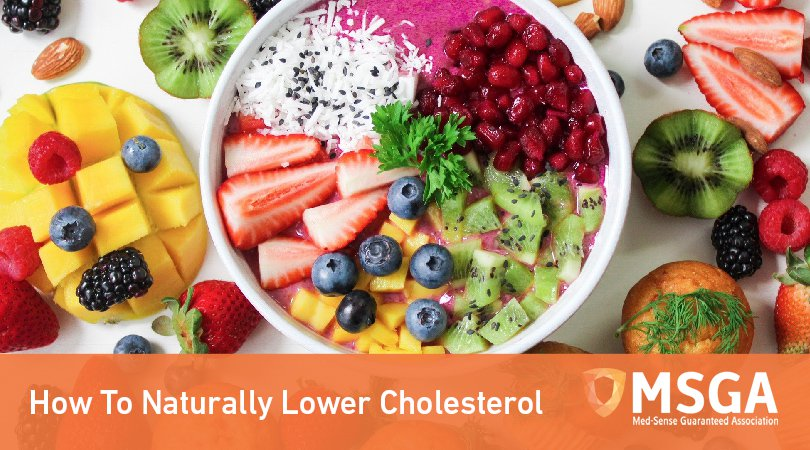 How To Naturally Lower Cholesterol