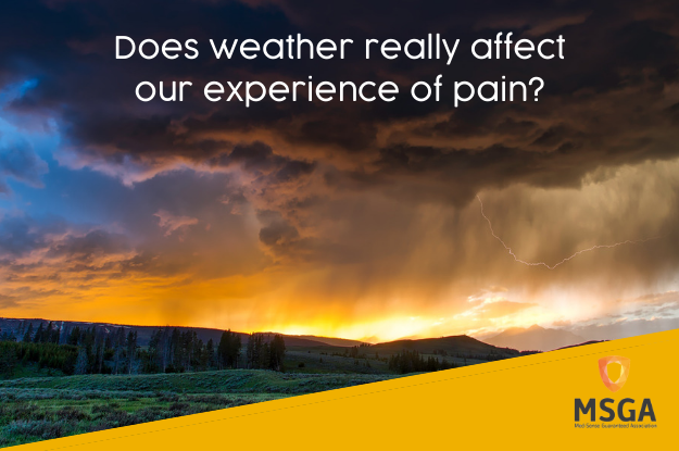 Does weather really affect our experience of pain?