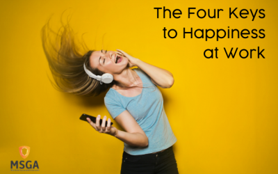 The Four Keys to Happiness at Work