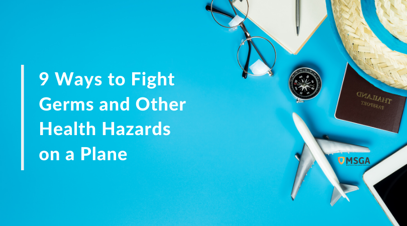 9 Ways to Fight Germs and Other Health Hazards on a Plane