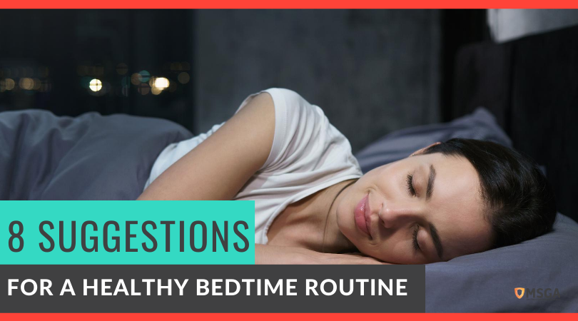 8 Suggestions for a Healthy Bedtime Routine