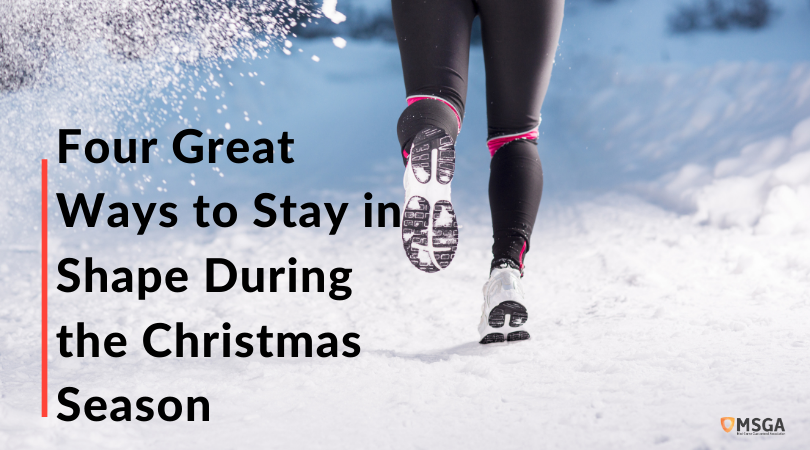 Four Great Ways to Stay in Shape During the Christmas Season